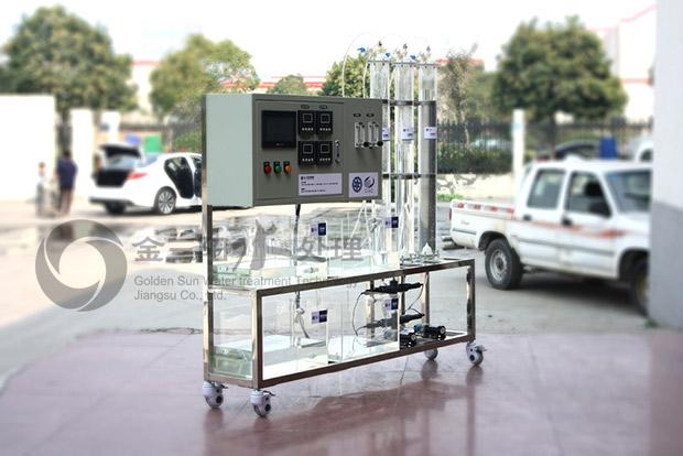 有机玻璃交换柱水处理设备